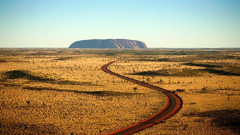 MC Across the Australia Outback Day 10 - Uluru