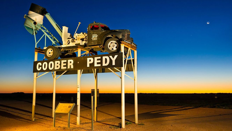 MC Across the Australia Outback Day 8 - Coober Pedy